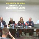Jagoda  Kljaić: Potpišite  Deklaraciju  o  zajedničkom  jeziku