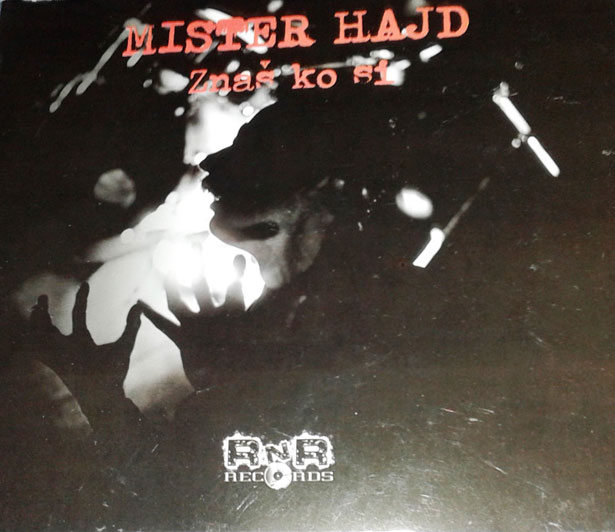 """GRUPA  MISTER HAJD CD ALBUM """"ZNAM KO SI"""""""