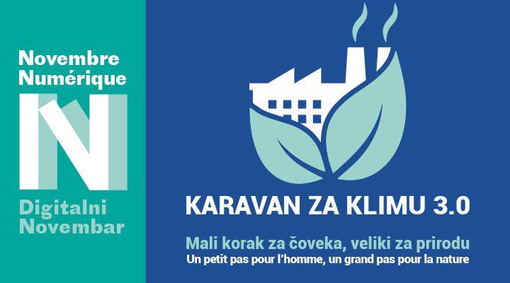 Karavan za klimu 3.0 otvara manifestaciju Digitalni novembar<br>Francuskog instituta u Srbiji