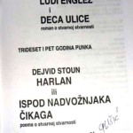 "Ivan Glišić & David Stone: ""Ludi Englez i deca ulice"" (M.O.D. Šabac, 2010. – 104 str A5, latinica)"