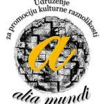 """OSNOVANO UDRUŽENJE ZA PROMOCIJU KULTURNE RAZNOLIKOSTI """"ALIA MUNDI"""""""