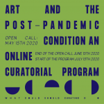 """Otvoren poziv za online program """"Umetnost i uslovi post-pandemije"""" i podršku umetnicima iz regiona kroz grantove"""
